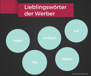 Doris Märtin | sage und schreibe: Lieblingswörter der Werber 2015