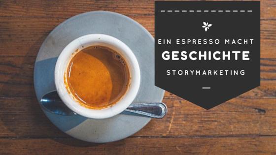 Ein Espresso macht Geschichte