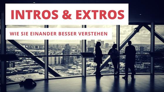 Wie sich Intros und Extros besser verstehen (1)